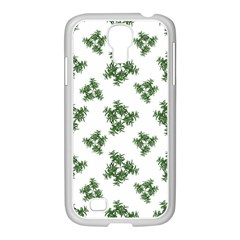 Nature Motif Pattern Design Samsung Galaxy S4 I9500/ I9505 Case (white)
