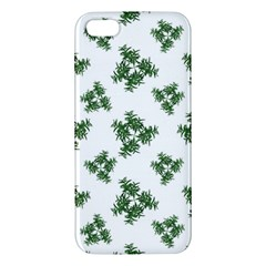 Nature Motif Pattern Design Iphone 5s/ Se Premium Hardshell Case