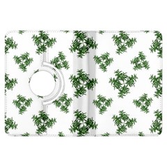 Nature Motif Pattern Design Kindle Fire Hdx Flip 360 Case