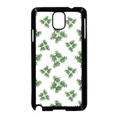 Nature Motif Pattern Design Samsung Galaxy Note 3 Neo Hardshell Case (black)