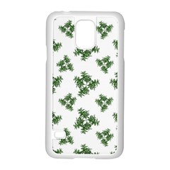 Nature Motif Pattern Design Samsung Galaxy S5 Case (white)
