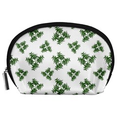 Nature Motif Pattern Design Accessory Pouches (large)