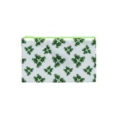 Nature Motif Pattern Design Cosmetic Bag (xs)