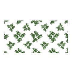 Nature Motif Pattern Design Satin Wrap