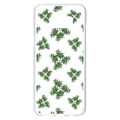 Nature Motif Pattern Design Samsung Galaxy S8 Plus White Seamless Case