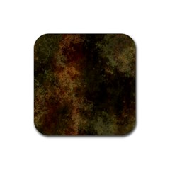 Marbled Structure 4a Rubber Square Coaster (4 Pack)