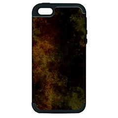 Marbled Structure 4a Apple Iphone 5 Hardshell Case (pc+silicone)