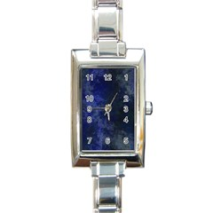 Marbled Structure 4b Rectangle Italian Charm Watch