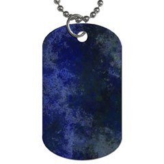 Marbled Structure 4b Dog Tag (two Sides)