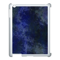 Marbled Structure 4b Apple Ipad 3/4 Case (white)