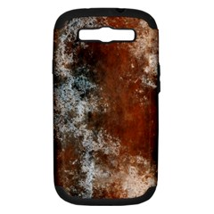 Marbled Structure 4c Samsung Galaxy S Iii Hardshell Case (pc+silicone)