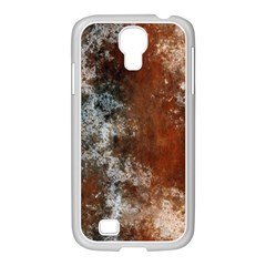 Marbled Structure 4c Samsung Galaxy S4 I9500/ I9505 Case (white)