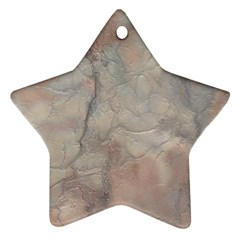 Marbled Structure 5a Ornament (star)