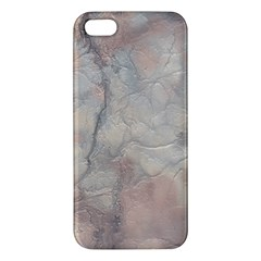 Marbled Structure 5a Apple Iphone 5 Premium Hardshell Case