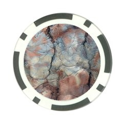Marbled Structure 5a2 Poker Chip Card Guard