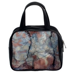 Marbled Structure 5a2 Classic Handbags (2 Sides)