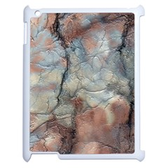 Marbled Structure 5a2 Apple Ipad 2 Case (white)