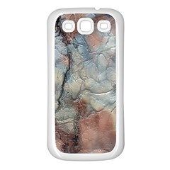 Marbled Structure 5a2 Samsung Galaxy S3 Back Case (white)