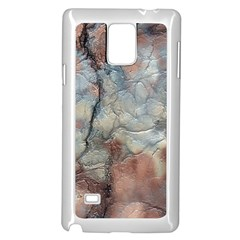Marbled Structure 5a2 Samsung Galaxy Note 4 Case (white)