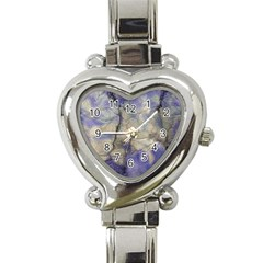 Marbled Structure 5b2 Heart Italian Charm Watch