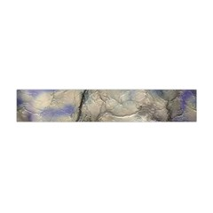 Marbled Structure 5b2 Flano Scarf (mini)