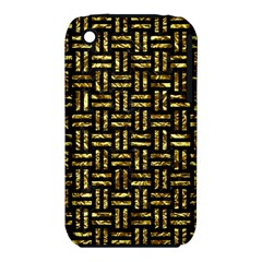 Woven1 Black Marble & Gold Foil Iphone 3s/3gs