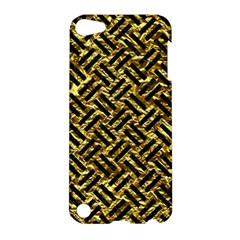 Woven2 Black Marble & Gold Foil (r) Apple Ipod Touch 5 Hardshell Case