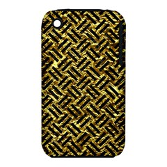 Woven2 Black Marble & Gold Foil (r) Iphone 3s/3gs