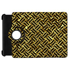 Woven2 Black Marble & Gold Foil (r) Kindle Fire Hd 7