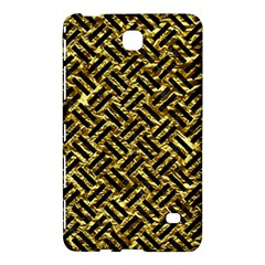 Woven2 Black Marble & Gold Foil (r) Samsung Galaxy Tab 4 (7 ) Hardshell Case