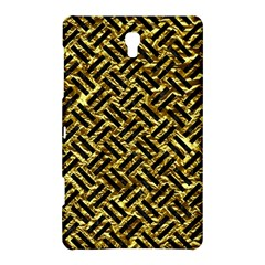 Woven2 Black Marble & Gold Foil (r) Samsung Galaxy Tab S (8 4 ) Hardshell Case