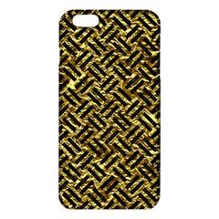 Woven2 Black Marble & Gold Foil (r) Iphone 6 Plus/6s Plus Tpu Case
