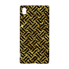 Woven2 Black Marble & Gold Foil (r) Sony Xperia Z3+