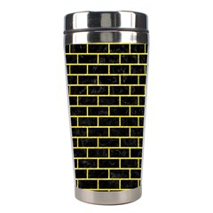 Brick1 Black Marble & Gold Glitter Stainless Steel Travel Tumblers