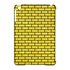 Brick1 Black Marble & Gold Glitter (r) Apple Ipad Mini Hardshell Case (compatible With Smart Cover)