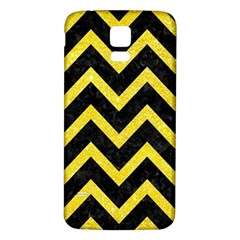 Chevron9 Black Marble & Gold Glittere & Gold Glitter Samsung Galaxy S5 Back Case (white)