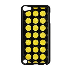 Circles1 Black Marble & Gold Glitter Apple Ipod Touch 5 Case (black)