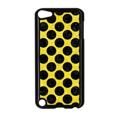 Circles2 Black Marble & Gold Glitter (r) Apple Ipod Touch 5 Case (black)