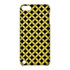 Circles3 Black Marble & Gold Glitter Apple Ipod Touch 5 Hardshell Case With Stand