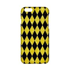 Diamond1 Black Marble & Gold Glitter Apple Iphone 6/6s Hardshell Case