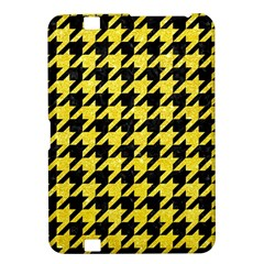 Houndstooth1 Black Marble & Gold Glitter Kindle Fire Hd 8 9