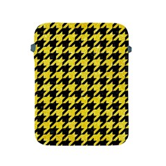 Houndstooth1 Black Marble & Gold Glitter Apple Ipad 2/3/4 Protective Soft Cases