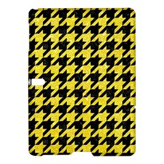 Houndstooth1 Black Marble & Gold Glitter Samsung Galaxy Tab S (10 5 ) Hardshell Case