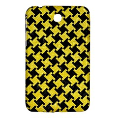 Houndstooth2 Black Marble & Gold Glitter Samsung Galaxy Tab 3 (7 ) P3200 Hardshell Case