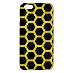 Hexagon2 Black Marble & Gold Glitter Iphone 6 Plus/6s Plus Tpu Case