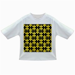 Puzzle1 Black Marble & Gold Glitter Infant/toddler T Shirts