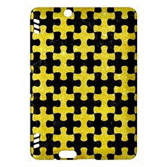 Puzzle1 Black Marble & Gold Glitter Kindle Fire Hdx Hardshell Case