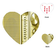 I Love My Radio! Playing Cards (heart)