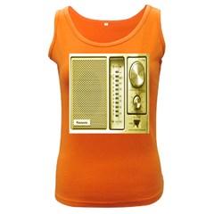 I Love My Radio! Women s Dark Tank Top