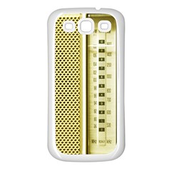 I Love My Radio! Samsung Galaxy S3 Back Case (white)
